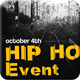 Hip Hop Event Flyer - GraphicRiver Item for Sale