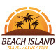 Beach Island Logo Template - GraphicRiver Item for Sale