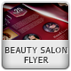 Beauty Salon Flyer I - GraphicRiver Item for Sale