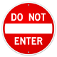 Do Not Enter Sign - GraphicRiver Item for Sale