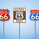 Route 66 Vintage Signs - GraphicRiver Item for Sale