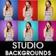 Studio Gel Backgrounds - GraphicRiver Item for Sale
