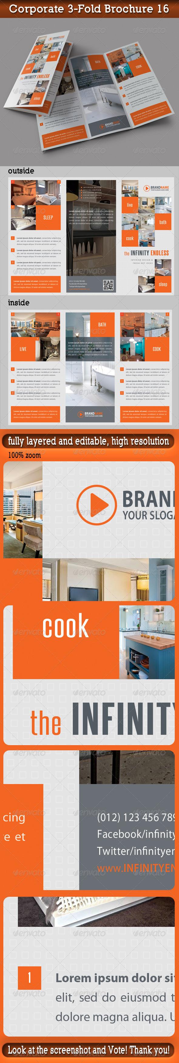 Corporate 3-Fold Brochure 16 - Catalogs Brochures