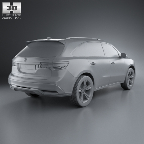 Acura MDX 2014 By Humster3d