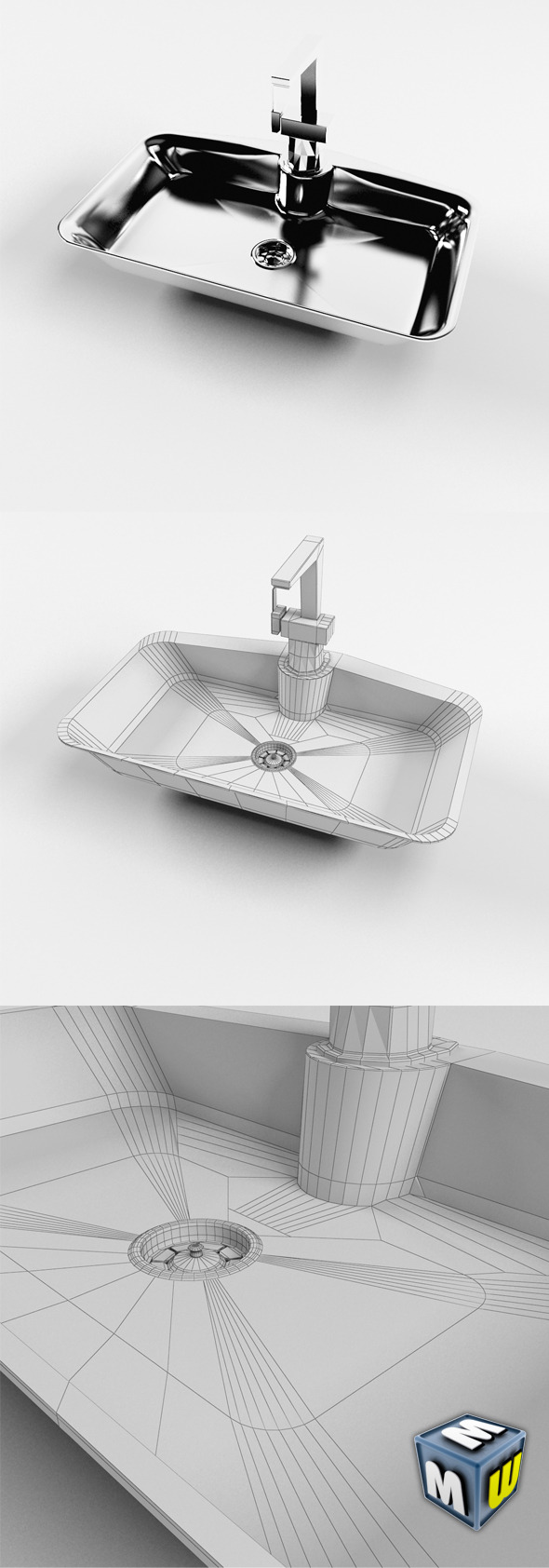 Sink MAX 2011 - 3DOcean Item for Sale