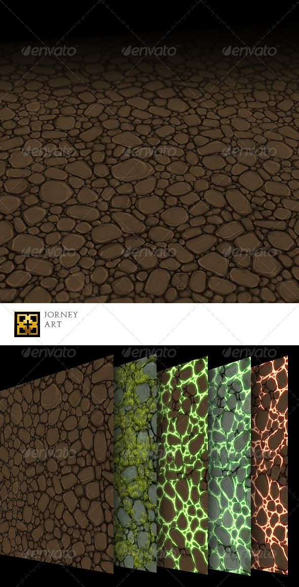 Wasteland Texture Collection - 3DOcean Item for Sale