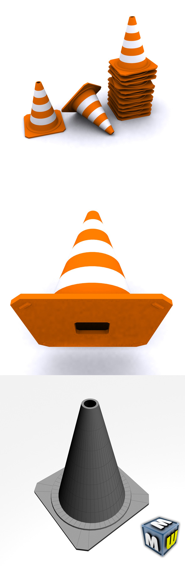 Traffic Cone Max 2010 - 3DOcean Item for Sale