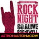 Rock Night Poster/Flyer N.003 - GraphicRiver Item for Sale