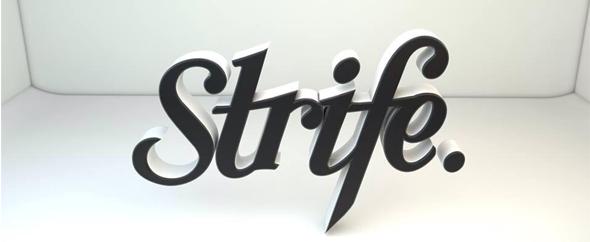 Strife banner envato