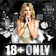 18+ Only | Flyer + Fb Cover - GraphicRiver Item for Sale