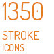 1350 Stroke Icons - GraphicRiver Item for Sale