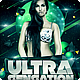 Ultra Sensation Flyer // 2 Color Versions - GraphicRiver Item for Sale