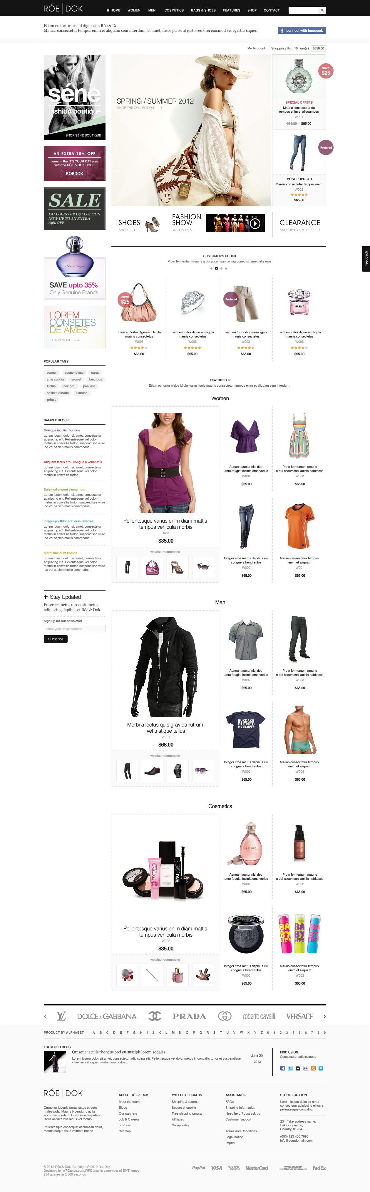 Woocommerce Wordpress Theme Roedok By Tvlgiao Themeforest