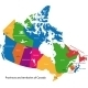 Colorful Canada Map - GraphicRiver Item for Sale