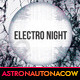 Electro Night Poster/Flyer N.001 - GraphicRiver Item for Sale
