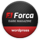 Forca - Responsive News/Magazine Theme Nulled