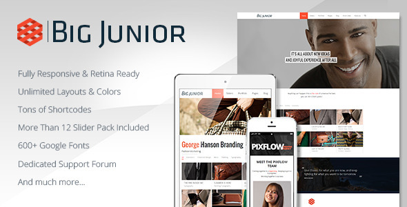 Big Junior – Multi-Purpose Responsive Theme