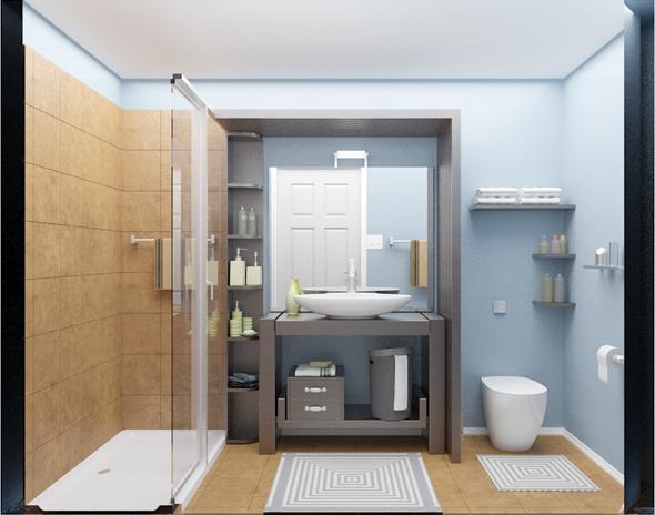 Interior design / Bathroom - 3DOcean Item for Sale