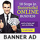 Corporate Web Banner Design Template 23 - GraphicRiver Item for Sale