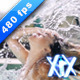 Woman Flipping Hair In Water - VideoHive Item for Sale