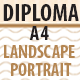 Print Template for Multipurpose Diploma / Certificate - GraphicRiver Item for Sale