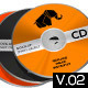 Realistic CD & CD Case Mock-Up - GraphicRiver Item for Sale