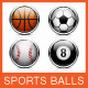 Sports Ball Icon - GraphicRiver Item for Sale