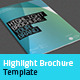 Highlight Brochure Template - GraphicRiver Item for Sale