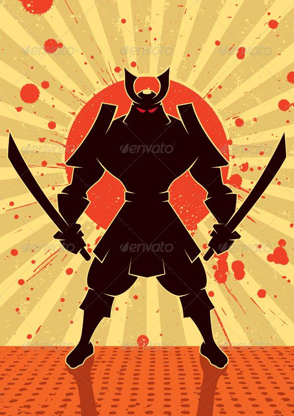 Shadow Samurai - People Characters