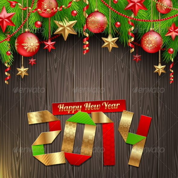 2014 new year greetings by sergo graphicriver 2014 new year greetings new year seasonsholidays m4hsunfo