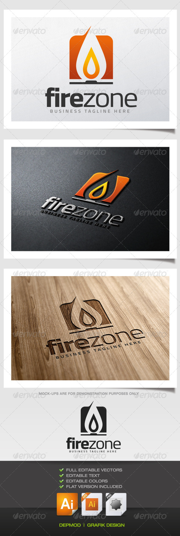 Fire Zone Logo