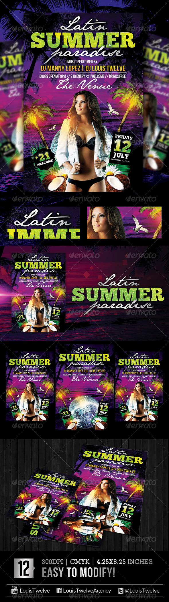 The Summer Paradise | Flyer Template