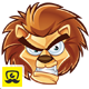 Cartoon Lion Logo