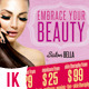 Beauty Flyers - GraphicRiver Item for Sale