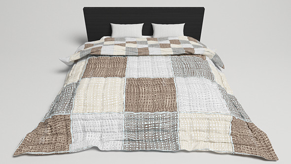 Bed Design - 2 (VRAYforC4D) - 3DOcean Item for Sale
