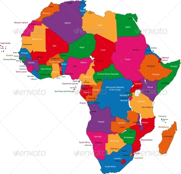 africa map emoji