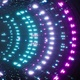 Neon Light VJ Tunnel Loop 4K - VideoHive Item for Sale