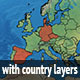 Realistic Earth - Layered - GraphicRiver Item for Sale