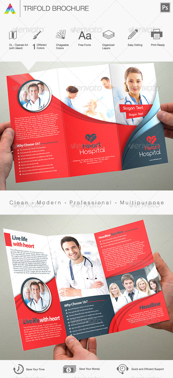 Multipurpose Corporate Brochure - Print Templates