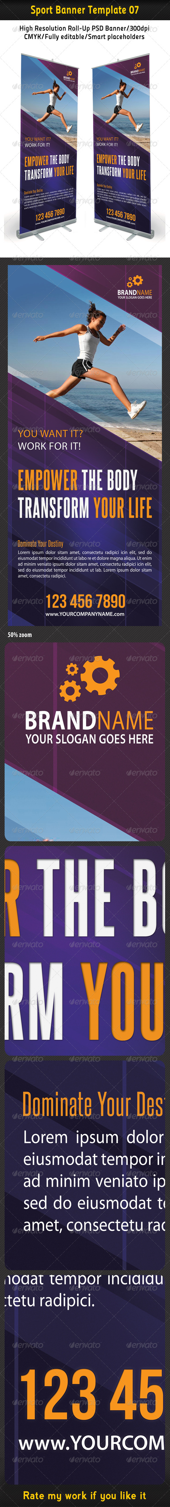 Sport Banner Template 07 - Signage Print Templates