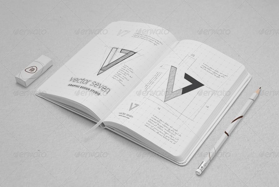 Sketchbook Mock-up U0026 Sketch Actions By Yogurt86 | GraphicRiver