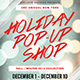 Holiday Pop Up Shop - GraphicRiver Item for Sale