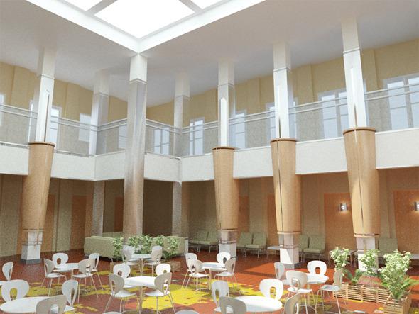 Interior / Atrium - 3DOcean Item for Sale