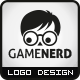 Game Nerd Logo - GraphicRiver Item for Sale