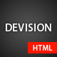 Devision - Onepage Parallax Retina Template - ThemeForest Item for Sale