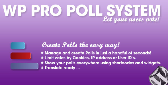 WP Pro Poll System - CodeCanyon Item for Sale