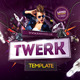 Twerk Flyer Template - GraphicRiver Item for Sale