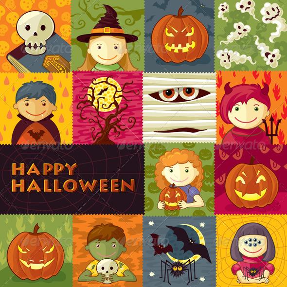 Halloween Greeting Card - Halloween Seasons/Holidays