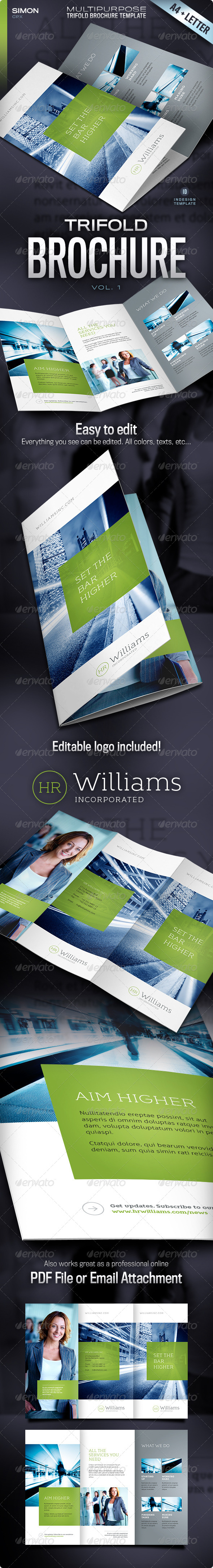 Trifold Brochure - Vol. 1 - Corporate Brochures