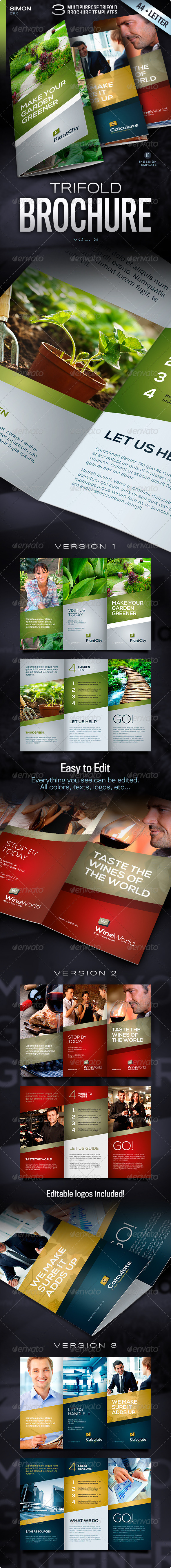 Trifold Brochure Vol. 3 - Corporate Brochures